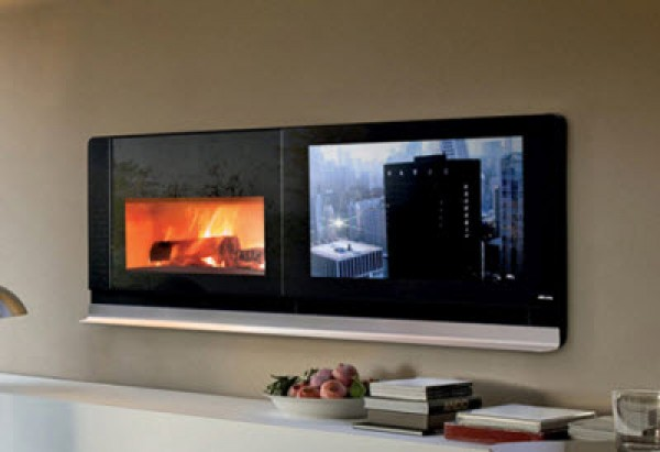 Fabulous Living Room Fireplace with TV 600 x 411 · 35 kB · jpeg