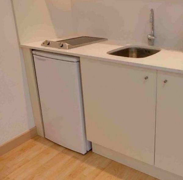 Simple and unique kitchen