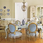 Retro Dining Table Model