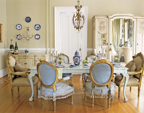 distressed table dining. 7 lovely dining rooms. large dining room