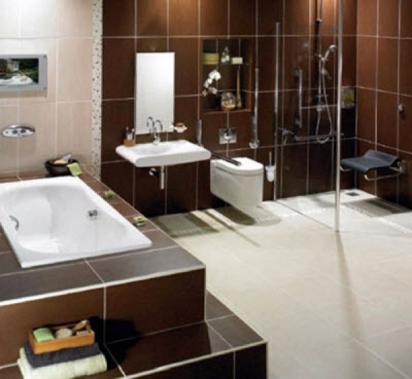 New bathroom ideas home interior design ideas for Latest bathroom designs