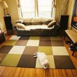 Modern Carpet Tiles for Living Room