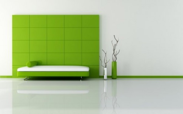 Clean Green Interior Design e1305928466374 Green Interior Design And Furniture
