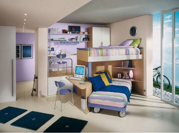 Modern Children Bedroom Design Model