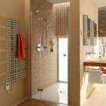 Fantastic Wooden Shower Design Grate Drains