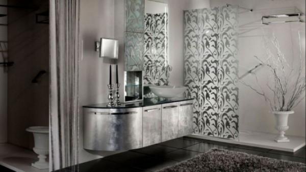 Elegant and Artistic Bathroom Vanities Motif Design