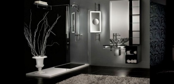 Elegant And Modern Bathroom Decorating With Victory Vanities This Dressing  Table ...