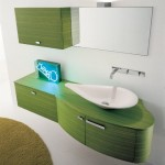 Modern Green Bathroom Interior Design Type