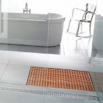 Luxury Wooden Shower Design Grate Drains
