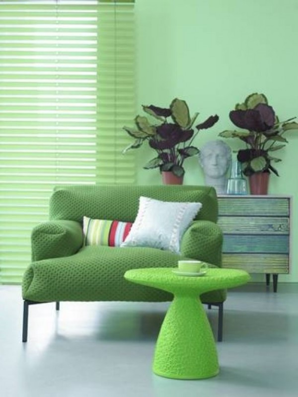 Amazing Green Interior Decor Design 600 x 799 · 76 kB · jpeg