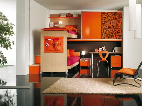 Contemporary Kids Bedroom Design Ideas