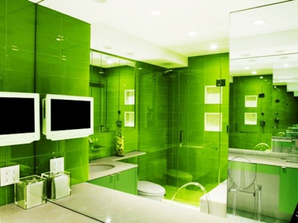 Riveting Green Interior Design Concept | Home Interior Design Ideas