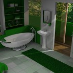 Newest Green Bathroom Decoration Ideas