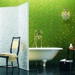Modern Green Bathroom Interior Decor