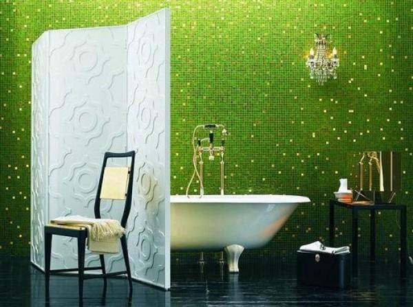 Modern Green Bathroom Interior Decor