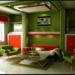 Latest Green Room Interior Design Image
