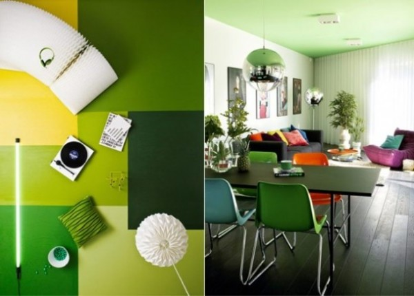Designer home designs for Green interior designs