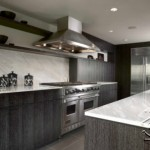 Modern Marble Kitchen Design Photo