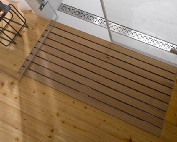 New Wooden Shower Design