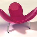 Meditation Pod Render Chair Model