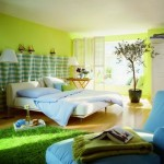 Luxury Green Bedroom Decoration