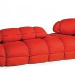 Red Divani Skitsch Sack in Marc Sadler Design