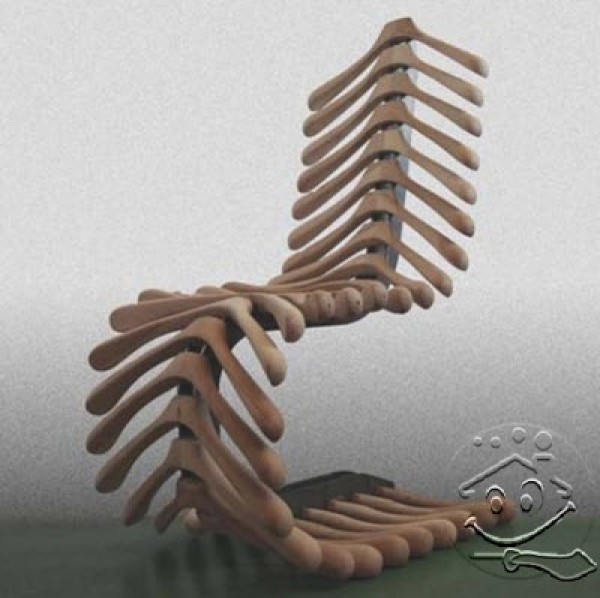 Awesome Wooden Chair Design