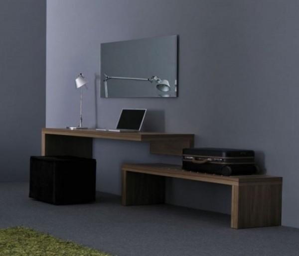 Wooden Desk Design