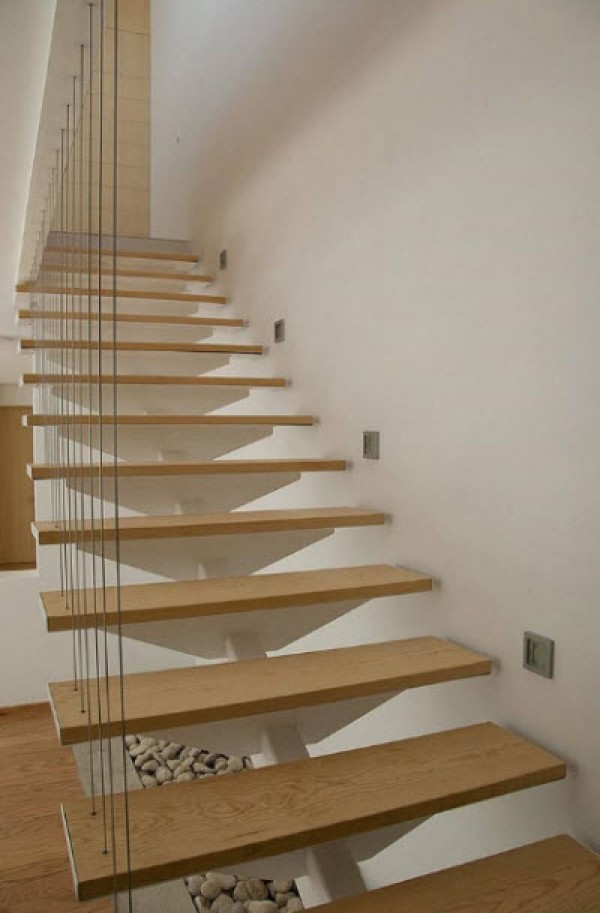 Wooden House Ladder Designs