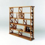 Artistic Accademia Open Back Shelving and Bookcase Design