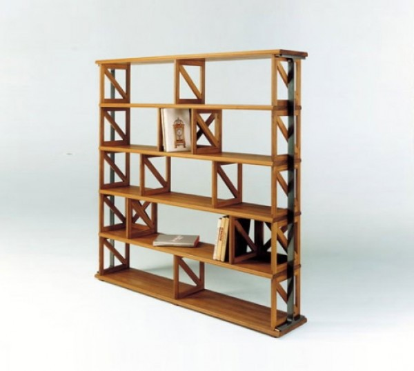 Accademia Open Back Shelving And Bookcase Design