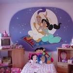 New Aladin Themed Kids Bedroom Decor