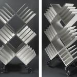 New Aluminum Bookshelf Design