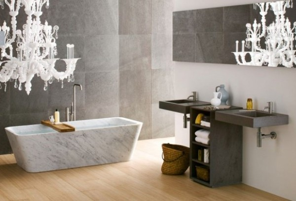 Elegant Bathtub Design Photo