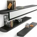 Futuristic Bookshelf Design Model