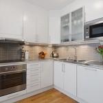Modern Kitchen in Studio Apartment Design