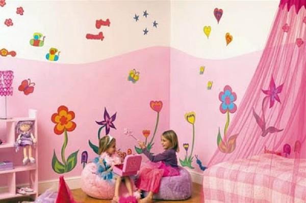 Luxury Pink Kids Bedroom Decor