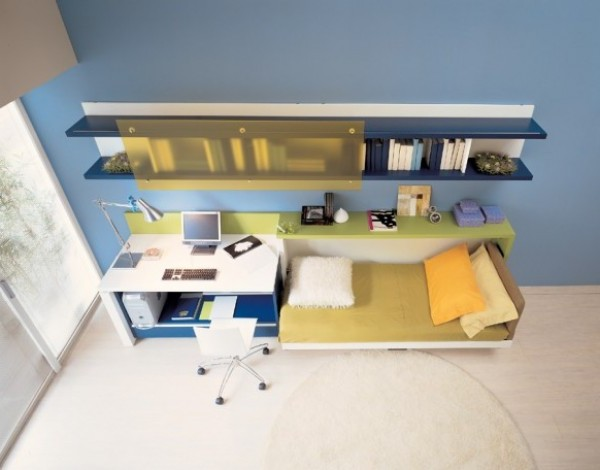 Fantastic Teenage Bedroom Design Interior
