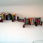 Futuristic Bookcase Design Type