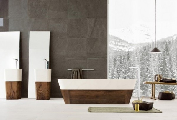 Artistic Bathtub Design Image