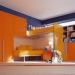 Modern Berloni Double Bedroom Design for Kids