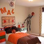 Latest Basketball Theme Kids Bedroom Design