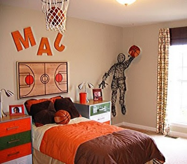 Excellent Basketball Bedroom for Boys Room Ideas 600 x 529 · 77 kB · jpeg