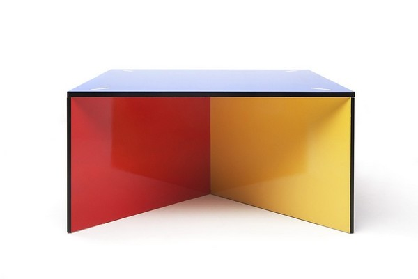 Beautiful colorful modular table design from helsinki for Modular table design