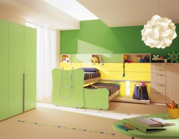 Innovative Double Berloni Bedroom Design for Kids