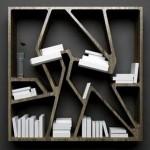 Futuristic Bookcase Design Model