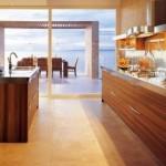 Awesome Brandy Oak Wooden Kitchen Design