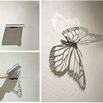 Latest Butterfly Bookshelf Design