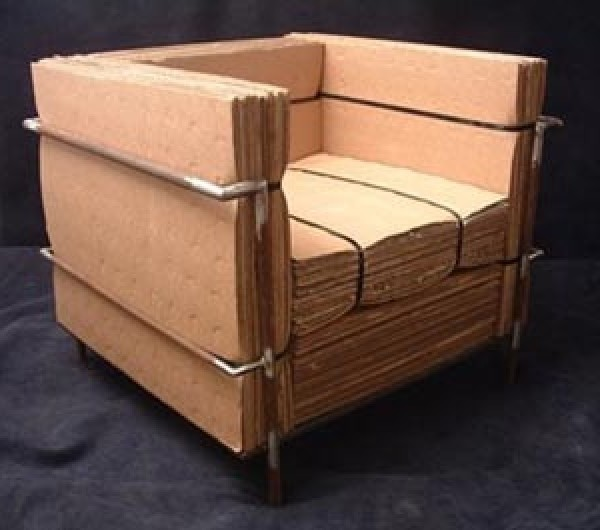 Cardboard Chair Design Model