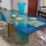 Modern Dining Table Design Model